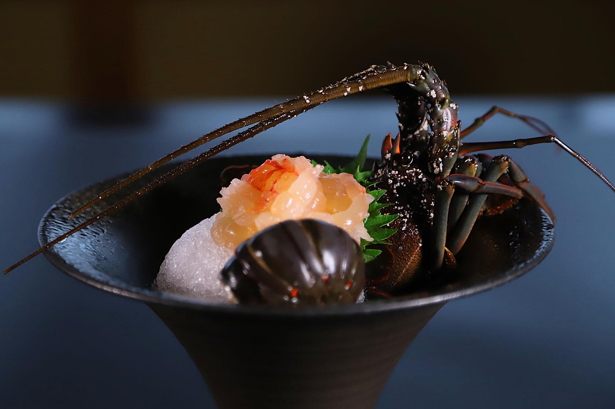 夢遊華(ゆめゆうか)伊勢海老料理