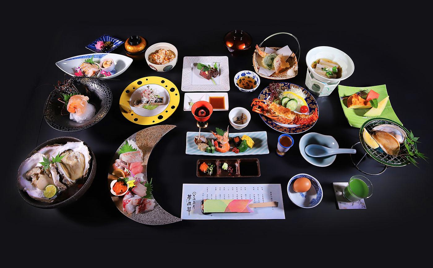 夢遊華(ゆめゆうか)デラックス御膳夕食