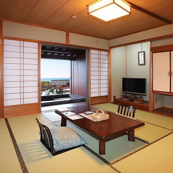 和室12畳のお部屋